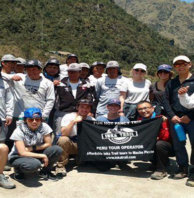 Classic Inca Trail to Machu Picchu with Personal Porter (6 Kg)