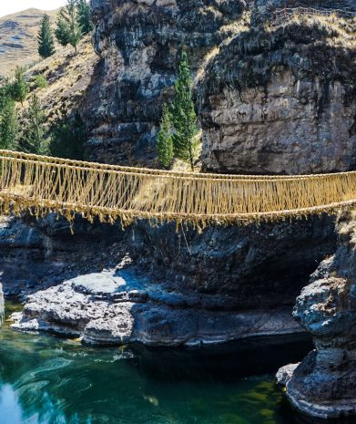 Full Day Tour of Qeswachaca Inca Bridge 40USD