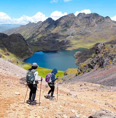 Lares Trek a  Machu Picchu 4 dias / 3 noches